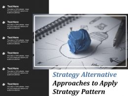 Strategy Alternative Approaches To Apply Strategy Pattern