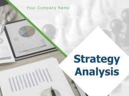 Strategy Analysis Evaluate Processes Training Techniques Business