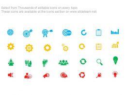 43308348 Style Essentials 2 Our Goals 5 Piece Powerpoint Presentation Diagram Infographic Slide