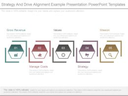 Strategy And Drive Alignment Example Presentation Powerpoint Templates