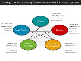 Strategy And Structure Showing People Practices Process And Lateral Capability