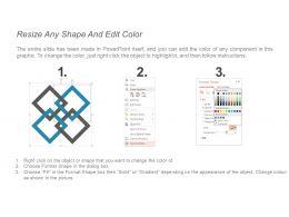47893845 Style Hierarchy Matrix 4 Piece Powerpoint Presentation Diagram Infographic Slide
