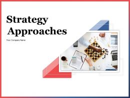 Strategy Approaches Powerpoint Presentation Slides