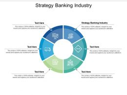 Strategy Banking Industry Ppt Powerpoint Presentation Inspiration Ideas Cpb