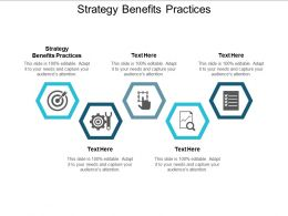 Strategy Benefits Practices Ppt Powerpoint Presentation File Show Cpb
