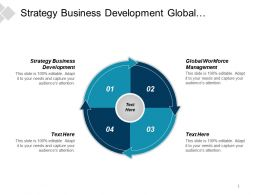 Strategy Business Development Global Workforce Management Strategy Framework Cpb