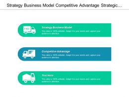 Strategy Business Model Competitive Advantage Strategic Plan Template Cpb