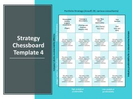 Strategy Chessboard Analytical Predictability Management Ppt Powerpoint Presentation Styles Display