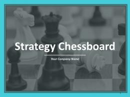 Strategy Chessboard Powerpoint Presentation Slides