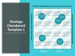 Strategy Chessboard Template Management Strategy Ppt Powerpoint Presentation Styles File Formats