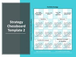 Strategy Chessboard Template Position And Conquer Reinvent Ppt Powerpoint Presentation Styles Graphics Pictures