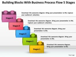 Strategy Consultant Business Process Flow 5 Stages Powerpoint Templates PPT Backgrounds For Slides 0530