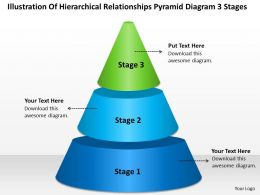 Strategy Consultants Pyramid Diagram 3 Stages Powerpoint Templates PPT Backgrounds For Slides 0530