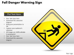 Strategy Consulting Business Danger Warning Sign Powerpoint Templates PPT Backgrounds For Slides 0528