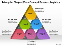 Strategy Consulting Business Logistics Powerpoint Templates PPT Backgrounds For Slides 6 Stages 0530