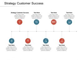 Strategy Customer Success Ppt Powerpoint Presentation Layouts Ideas Cpb