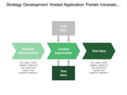 Strategy Development Hosted Application Portals Intranets Online Payments