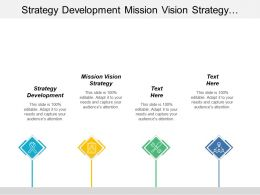 Strategy Development Mission Vision Strategy Strategic Plan Implementation Cpb