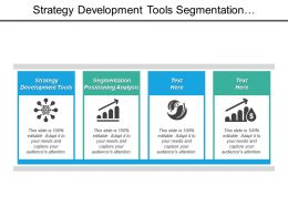 Strategy Development Tools Segmentation Positioning Analysis Risk Management Assessment Cpb