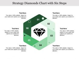 Strategy Diamonds Chart With Six Steps