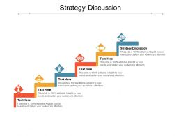 Strategy Discussion Ppt Powerpoint Presentation Ideas Images Cpb