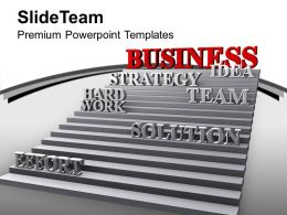 Strategy Effort Hard Work Leads Success Powerpoint Templates Ppt Themes And Graphics 0213