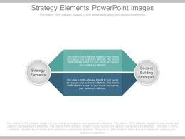 Strategy Elements Powerpoint Images
