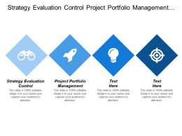 Strategy Evaluation Control Project Portfolio Management Customer Buy