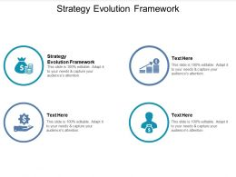 Strategy Evolution Framework Ppt Powerpoint Presentation Professional Inspiration Cpb