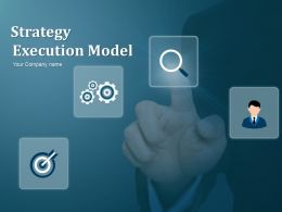 Strategy Execution Model Powerpoint Presentation Slides