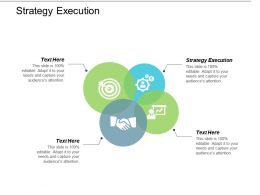 Strategy Execution Ppt Powerpoint Presentation Gallery Ideas Cpb