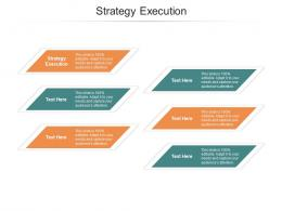 Strategy Execution Ppt PowerPoint Presentation Icon Master Slide Cpb