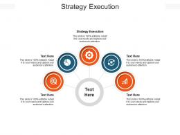 Strategy Execution Ppt Powerpoint Presentation Styles Background Designs Cpb
