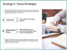 Strategy Focus Strategies Mainstream Carriers Ppt Powerpoint Presentation Background