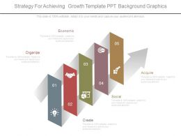 Strategy For Achieving Growth Template Ppt Background Graphics