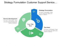 Strategy Formulation Customer Support Service Service Development Managing Talent