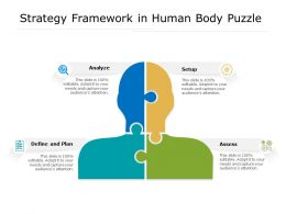 Strategy Framework In Human Body Puzzle