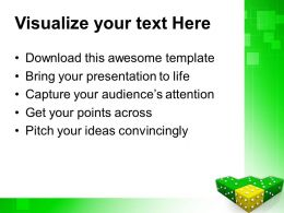 Strategy Game Powerpoint Templates Yellow Dice Winning Leadership Chart Ppt Designs