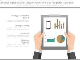 Strategy Implementation Diagram Powerpoint Slide Templates Download