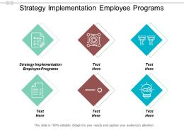 Strategy Implementation Employee Programs Ppt Powerpoint Presentation Portfolio Gallery Cpb