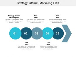 Strategy Internet Marketing Plan Ppt Powerpoint Presentation Examples Cpb
