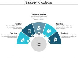 Strategy Knowledge Ppt Powerpoint Presentation Gallery Guide Cpb