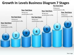 Strategy Management Consulting Diagram 7 Stages Powerpoint Templates PPT Backgrounds For Slides 0530