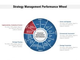 Strategy Management Performance Wheel