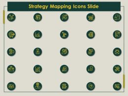 Strategy Mapping Icons Slide Ppt Powerpoint Presentation Infographics