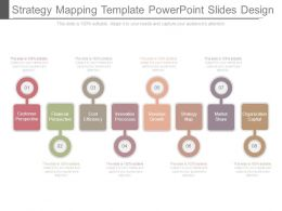 Strategy Mapping Template Powerpoint Slides Design