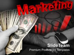 Strategy Money Mouse Powerpoint Templates And Themes Business Concept Presentation