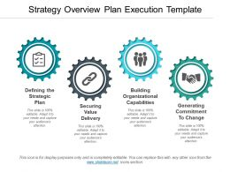Strategy Overview Plan Execution Template Ppt Slides