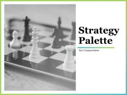 Strategy Palette Powerpoint Presentation Slides