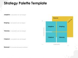 Strategy Palette Template Ppt Powerpoint Presentation Infographic Template Picture